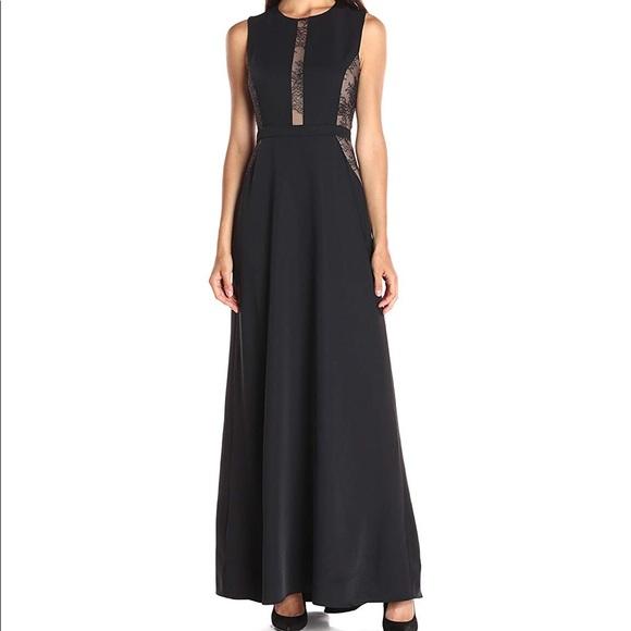 ea1687b2e0bfd BCBGMaxAzria Dresses | Bcbg Max Azria Ashlee Lacepaneled Satin Gown ...